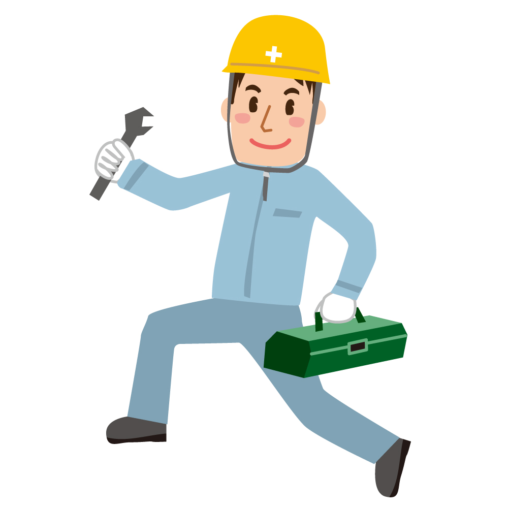 工場・建設現場の職人